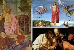 DIpinti sulla Resurrezione di Cristo a confronto