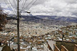 la Paz, capitale della Bolivia